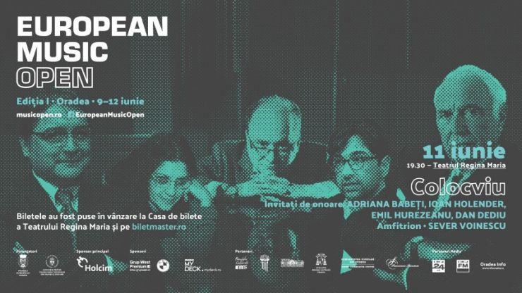 Prima ediţie a Festivalului internaţional European Music Open, între 9-12 iunie, la Oradea. Vezi programul