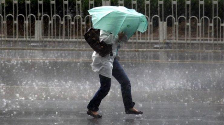 Cod galben de precipitații și vânt puternic