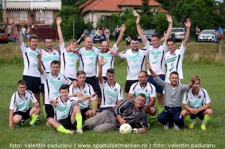 Fotbal. Liga a V-a: Viile Satu Mare a promovat în Liga a IV-a (Galerie Foto&Video)