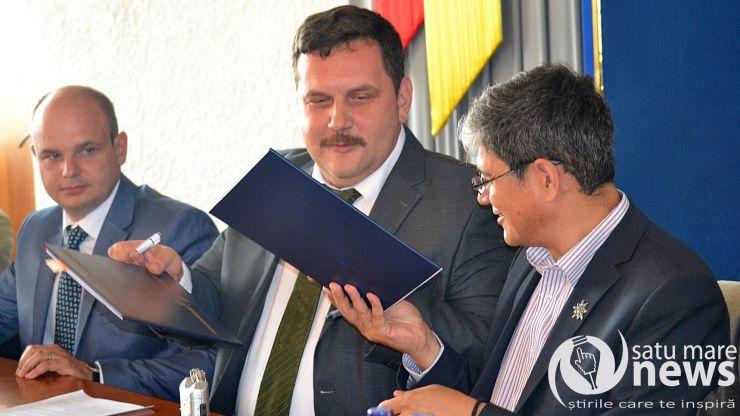 A fost semnat contractul pentru drumul Beltiug-Bogdand-Hodod