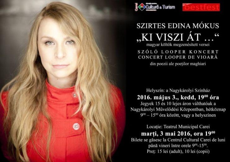 """Concert Looper de Vioară """"Ki viszi át..."""""""
