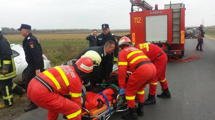 O persoană a murit, în urma accidentului produs azi între localitățile Băbășești și Odoreu