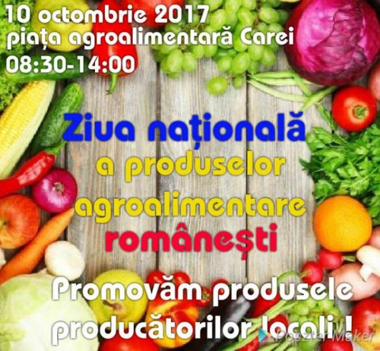 La Carei se promovează produsele producătorilor locali