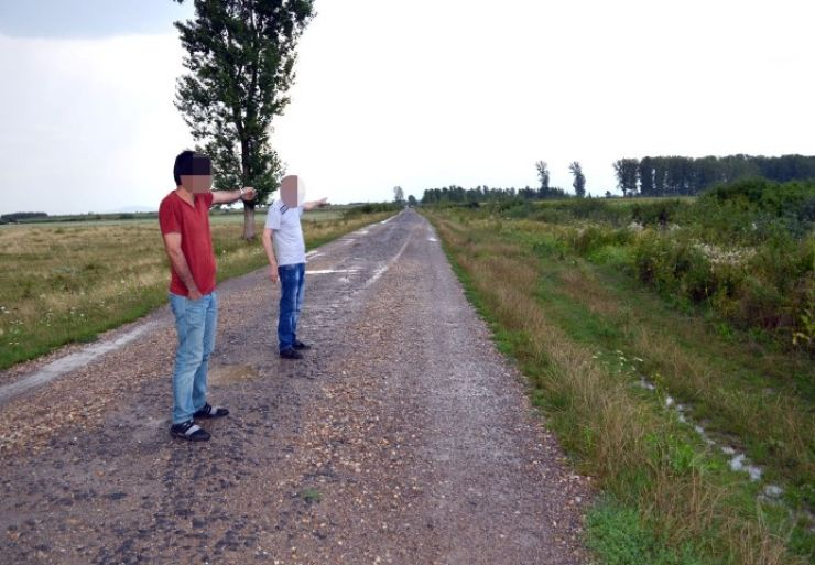 Trei imigranți, opriţi la frontieră de polițiștii sătmăreni