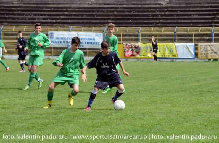 AFLĂ lotul de fotbaliști sătmăreni U14 care vor reprezenta județul la Oradea