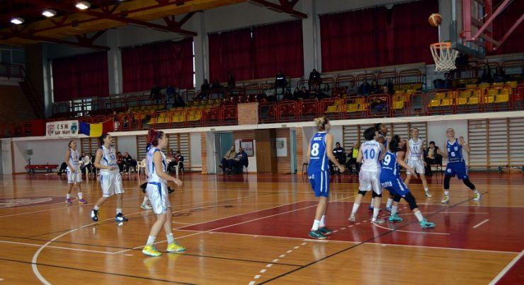 Baschet: CSM Satu Mare 52 - 108 CSU Alba Iulia