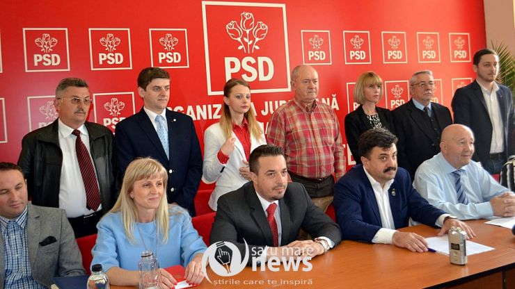 """PSD Satu Mare și-a prezentat lista de consilieri locali. Coica: """"PSD e singurul partid care respectă regula: tineri și femei pe liste pe locuri eligibile"""""""