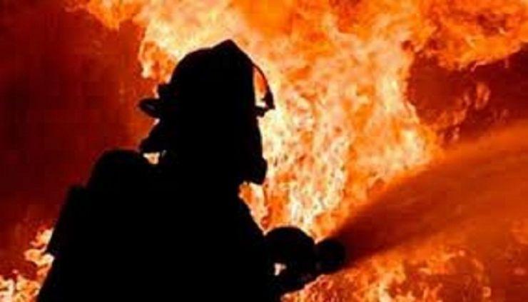 Incendiu de proporții în Foieni