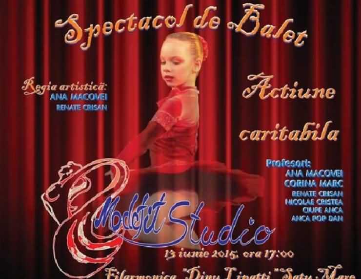 """Spectacol de balet la Filarmonica """"Dinu Lipatti"""""""