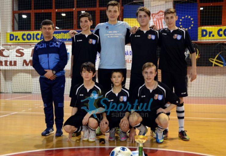 LPS ONSS Satu Mare a câștigat Cupa AJF Satu Mare la fotbal în sală - juniori
