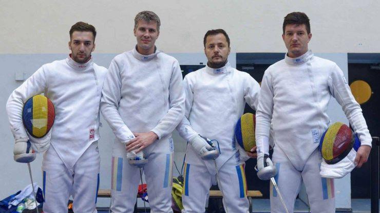 Patru sătmăreni la Campionatul European de scrimă de la Tbilisi