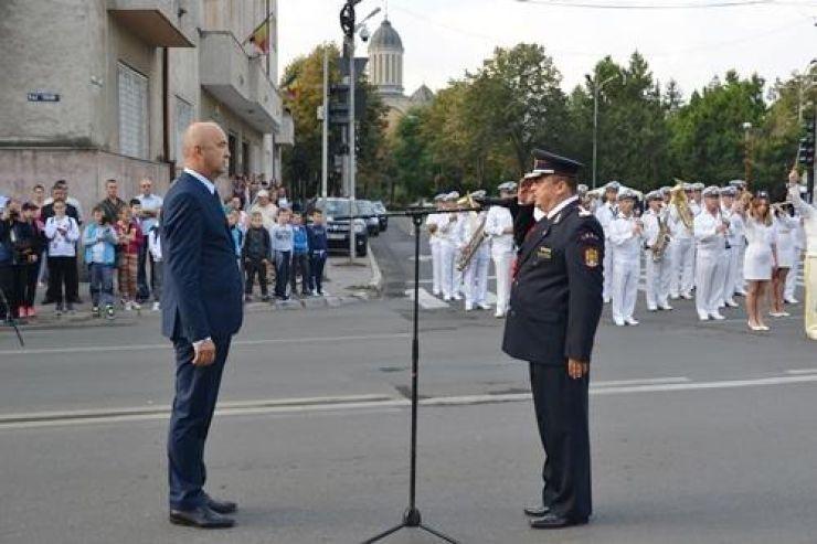 Colonelul Nicolae Dima este noul inspector șef al ISU Someș Satu Mare