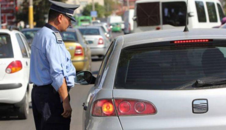 Filtre ale Poliţiei şi sute de amenzi pentru şoferii din Satu Mare