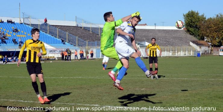 Fotbal. Liga 2. FC Olimpia Satu Mare 1 - 1 FC Brașov