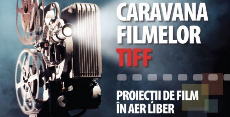 Caravana Filmelor TIFF ajunge la Carei