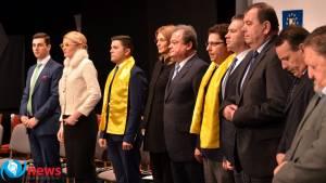 """Lansarea candidaţilor PNL.  Virgil Enătescu: """"Sperăm că a răsărit şi soarele pe strada noastră, sperăm că se întrezăreşte lumina dreptăţii"""""""