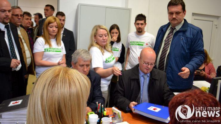 Kereskenyi Gabor și-a depus candidatura pentru Primăria Satu Mare
