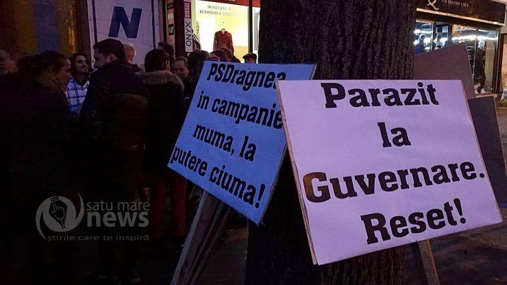 """Miting PNL la Satu Mare: """"PSDragnea, în campanie mumă, la putere ciumă!"""""""