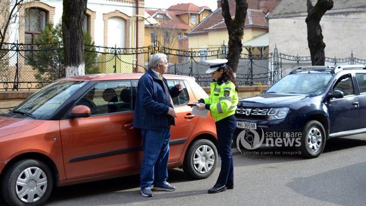 Avertismentul, principala sancțiune aplicată azi de polițiști