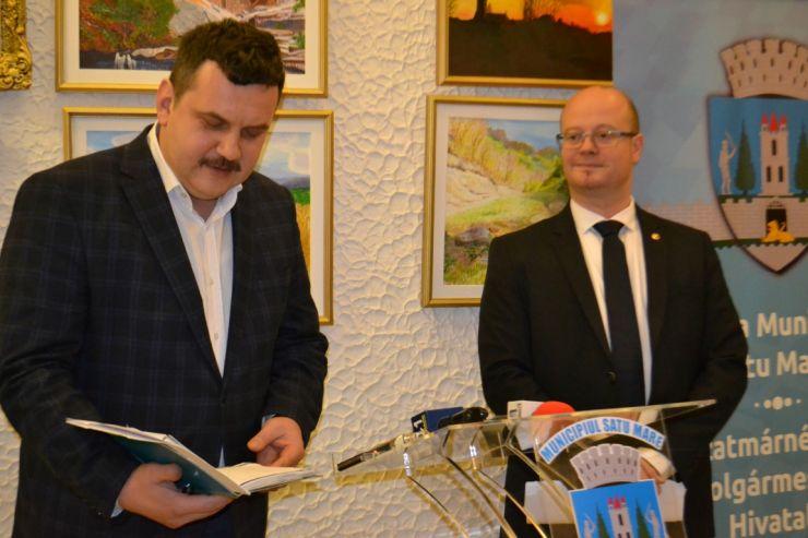 Pataki Csaba și Kereskenyi Gabor nu primesc cu colindul