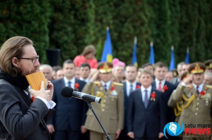 Cel mai bun naist al lumii a cântat de Ziua Armatei Române, la Carei (foto & video)