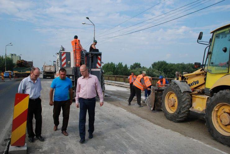 Primăria Satu Mare | Explicații privind apariția gropilor pe podul Decebal