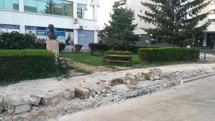 Centrul municipiului Satu Mare a intrat în reabilitare