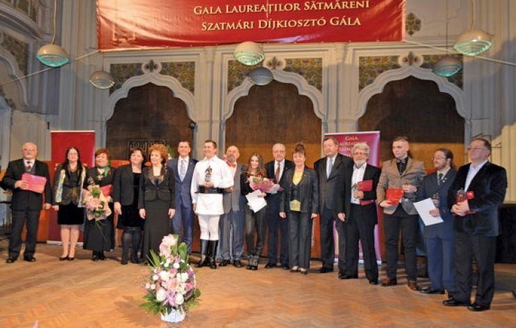 """Gala Laureaților Sătmăreni. Petrică Mureșan, """"Omul Anului 2015"""""""