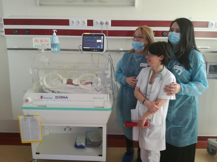Donații de aproape 20.000 de euro pentru Maternitatea din Satu Mare
