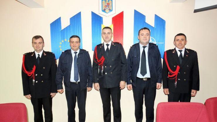 Festivitate de avansare în grad, la ISU Someș Satu Mare