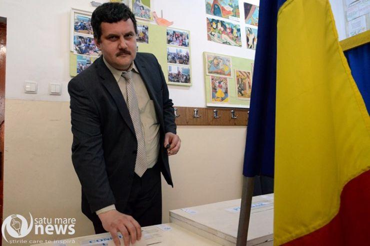Pataki Csaba a votat pentru schimbare în municipiu și pentru dezvoltarea județului Satu Mare