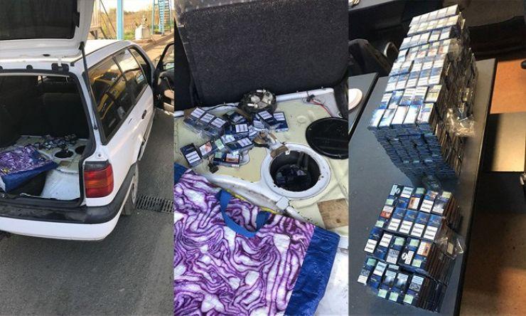 Țigări de contrabandă descoperite în două vehicule