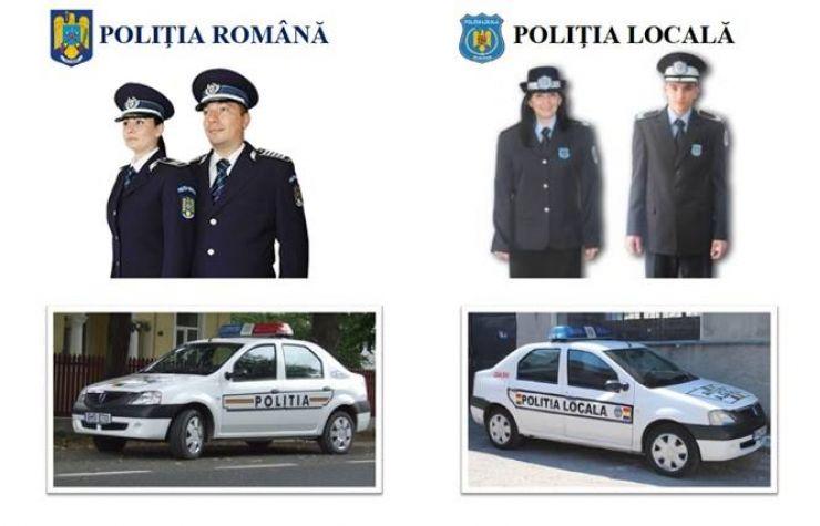 Poliția locală aplică amenzi cot la cot cu Poliția română