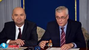 Noul prefect al județului, Radu Bud, reînvestit în funcție (foto)