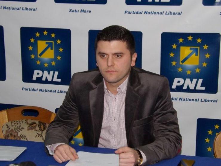 Adrian Cozma, noul co-președinte al PNL Satu Mare. Acesta a fost validat de BPN