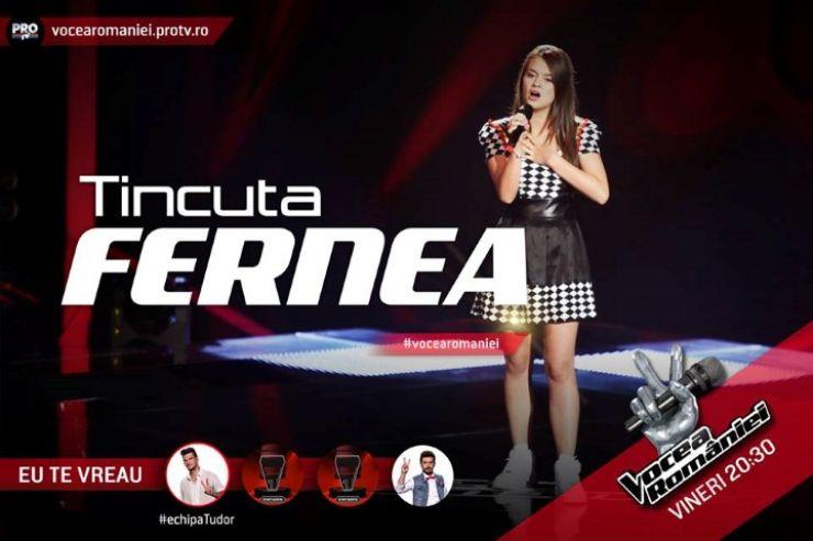 """Tincuța Fernea, sătmăreanca cu care Tudor Chirilă speră să câștige """"Vocea României"""" (video)"""