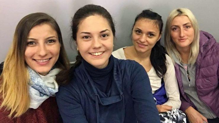 Spadă | Sătmărencele Amalia Tătăran și Greta Vereș participă la etapa de Cupă Mondială de la Tallin