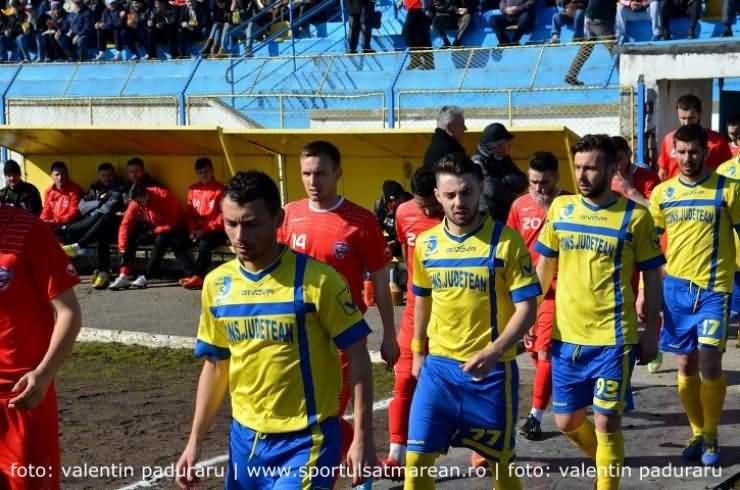 Fotbal. Liga a II-a. FC Olimpia Satu Mare 1 - 1 Metalul Reșița
