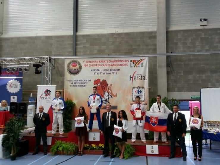 Karate. Sportivii de la CSM Satu Mare au obținut 15 medalii la Campionatului European de Karate