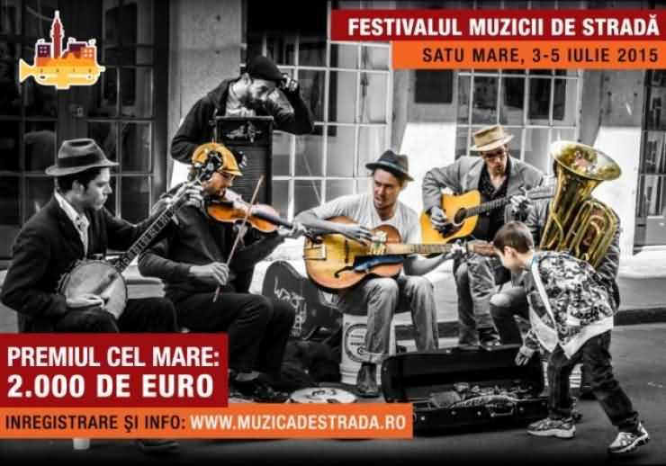 Festivalul Muzicii de Stradă pune la bătaie 2000 de euro pentru muzicieni. Liber la înscrieri!