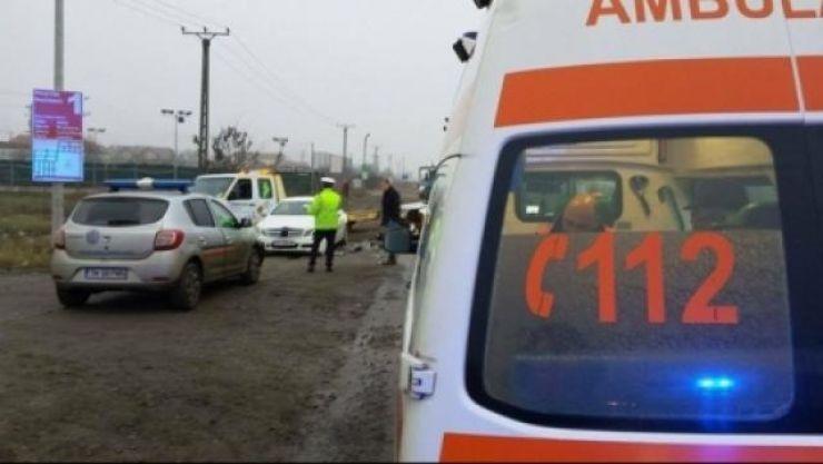 Accident cu doi răniți provocat de o sătmăreancă în Săcueni