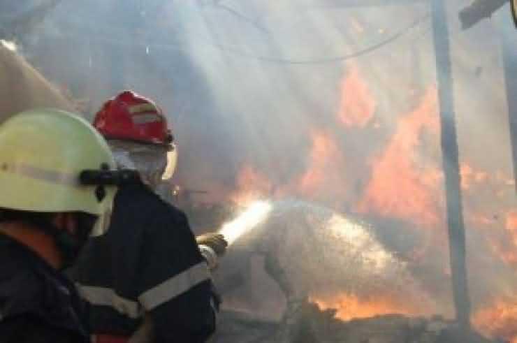 Incendiu la o casă din Certeze