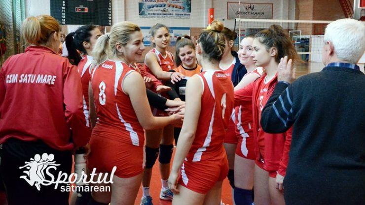 Volei | Victorie pentru CSM Satu Mare în meciul doi al play-off-lui. Meciul decisiv se joacă la Timișoara