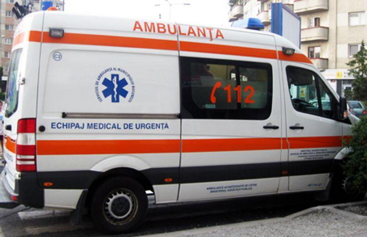 Accident la Acâș. Un cetățean estonian a ajuns la spital