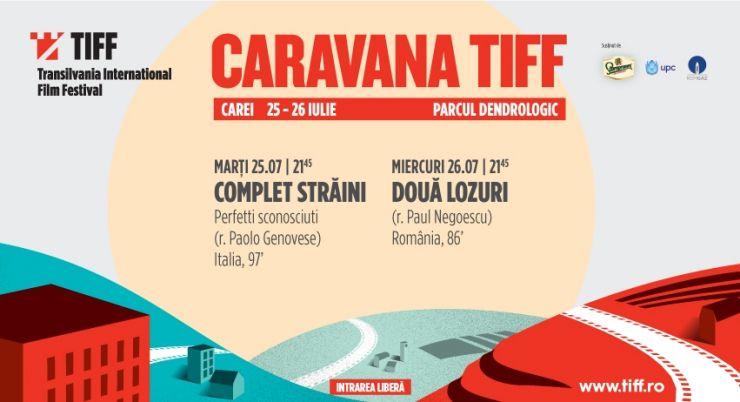 Caravana TIFF aduce două comedii de succes la Carei