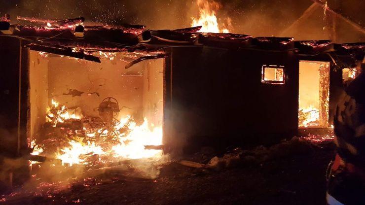 Incendiu la o casă din Huta Certeze