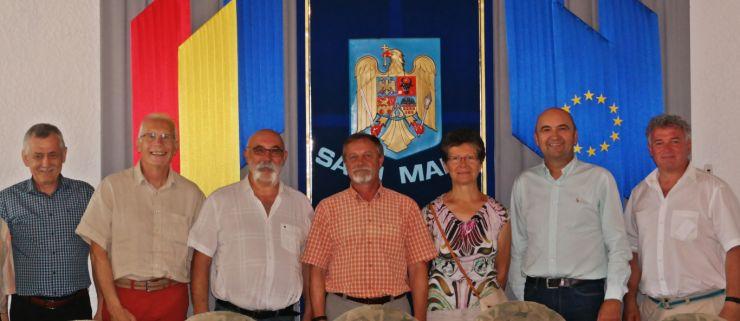 Delegație franceză în vizită la Satu Mare