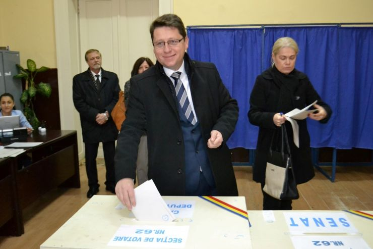 Candidații PNL Satu Mare la alegerile parlamentare au votat