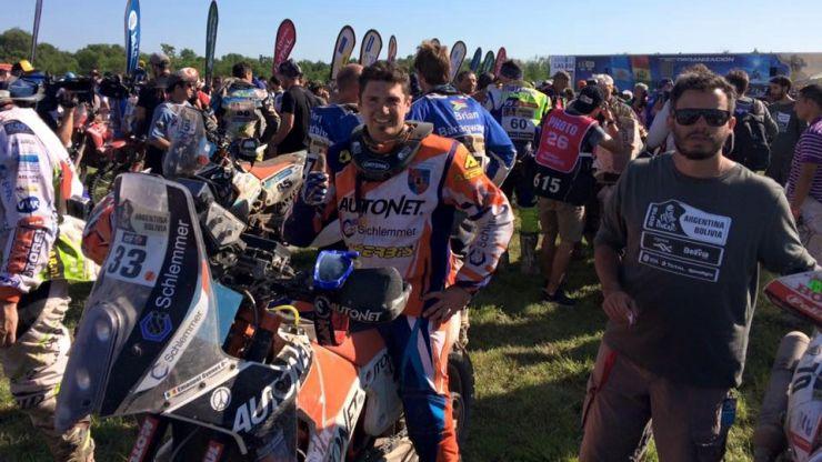 Felicitări, Mani Gyenes! Riderul sătmărean a încheiat pe locul 14 Raliul Dakar 2016