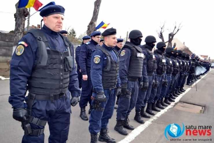 Ziua Jandarmeriei, marcată la Satu Mare. Galerie foto
